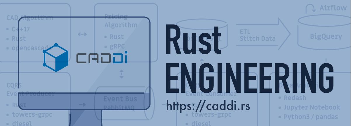 CADDi Rust engineering